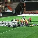 Lorient-Rennes maçında inanılmaz ölüm!