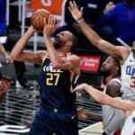 NBA'de Utah Jazz'dan Fransız pivot Rudy Gobert'e rekor kontrat
