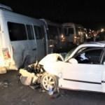 Şanlıurfa'da 5 araçlı zincirleme kaza: 3 yaralı