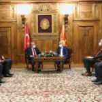 TBMM Başkanı Şentop'tan Kuzey Makedonya'ya FETÖ uyarısı!