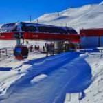 Yabancı kayakseverler Kovid-19'a rağmen Erciyes'i tercih etti