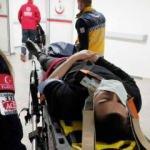 Aksaray'da kamyonet ile otomobil çarpıştı: 2 yaralı