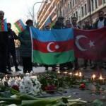Ermenistan askerlerinin şehit ettiği Azerbaycanlılar İsveç'te anıldı