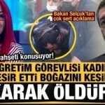 Türkiye bu olayı konuşuyor: Esir etti, boğazını kesip yakarak öldürdü! Ziya Selçuk'tan açıklama