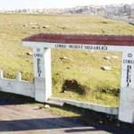 1 tonluk mezarlık kapısını çaldılar!