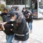 2 ildeki 10 adrese yapılan narkotik operasyonunda 5 kişi tutuklandı