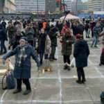 Almanya'da Kovid-19 önlemleri karşıtı gösteri düzenlendi