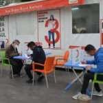 Antalya'da gönüllüler, kan bağışında bulundu