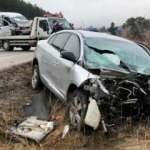 Çankırı'da feci kaza: 2 ölü, 4 yaralı