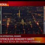 CNN Türk spikerinin sorusu yayından aldırdı!
