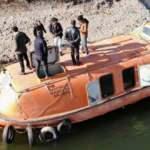 Denizsiz kente denizaltı getirdiler!