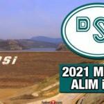 Devlet Su İşleri (DSI) en az 5.000 TL maaşla memur alım ilanı! Başvurular ne zaman başlayacak?