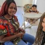 Eşinden boşanan Kongolu Marlene'in bebeğiyle yaşam mücadelesi
