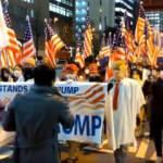 Tokyo'da Trump destekçileri yürüyüş düzenledi