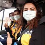 Kayseri 112'nin kadın ekiplerini gören gururlanıyor