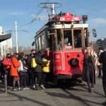 Taksim'de kısıtlamanın ardından dikkat çeken yoğunluk