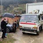 Araklı'da evleri yanan ailelere, konteyner ev desteği