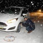 Karlı yolda araç nasıl kullanılır? İşte yapılması gerekenler...