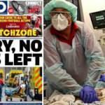 İngiltere'de kabus gazete manşetlerinde: Üzgünüz, yatak kalmadı