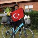 Bisikletiyle dünyayı geziyor! Türkiye'ye hayran kaldı