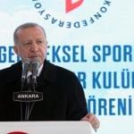 Cumhurbaşkanı Erdoğan'dan gençlere çağrı: Sahip çıkmak boynumuzun borcudur