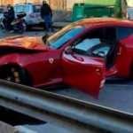 Federico Marchetti'nin 4 milyon liralık araç pert oldu