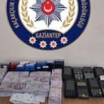 Gaziantep'te bir matbaada sahte 918 bin lira ele geçirildi