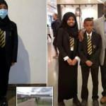 İngiltere'de Müslüman kıza kısa etek dayatması