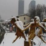 İstanbul beyaz gelinliğini gidi... Kartpostallık görüntüler adeta büyüledi