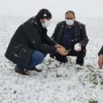 Kar yağışı çiftçilerin yüzünü gülürdü