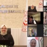 Bakan Zehra Zümrüt Selçuk'tan kadın girişimciliğine destek mesajı