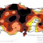 Meteoroloji'nin paylaştığı harita korkuttu: Son yüzyılda böylesi görülmedi