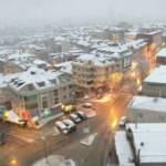 Son dakika: İstanbul'da lapa lapa kar yağışı! Meteoroloji'den yeni uyarı geldi...