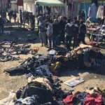 Bağdat'ta çok büyük patlama! Görüntüler korkunç