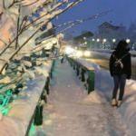 Bartın'da kar kalınlığı 40 santimetreye ulaştı