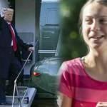 Trump'ın kendisine söylediklerini unutmadı! Greta, veda mesajında intikamını aldı