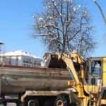 İlde yoğun çalışma: 1100 kamyon kar ırmağa boşaltıldı