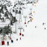 Kayak merkezlerinde pistler doldu!