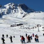 Kayak merkezlerinde sömestir yoğunluğu yaşanıyor!