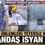 Meteoroloji İstanbul için defalarca uyarmıştı! İBB yetersiz kalınca, vatandaş isyan etti...
