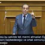 Yunan vekil: Tek kurşun dahi atamadan Ege'nin yarısını Türklere kaybedeceğiz
