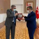 Rus Büyükelçi'den Sağlık Bakanı Koca'ya ziyaret