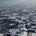 """Yedi asırlık """"Osmanlı köyü"""" Cumalıkızık'ta kar güzelliği"""