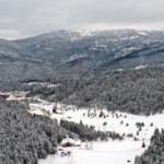 Yeşil ile beyazın buluştuğu rota: Yıldıztepe Kayak Merkezi