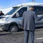 Yolcu minibüsü takla attı! Yaralılar var