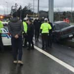 15 Temmuz Şehitler Köprüsü çıkışında kaza: 3 yaralı