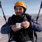 950 metre yükseklikte çay içti