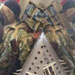 Hafter cephesindeki Wagner askerleri market alışverişinde görüntülendi