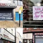 İngiltere'de Türklerin dükkanlarına ırkçı saldırı