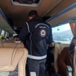 Ankara'da 13 düzensiz göçmen yakalandı